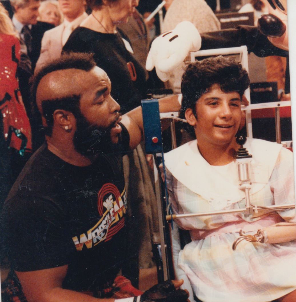 23 - age 12 with mr t