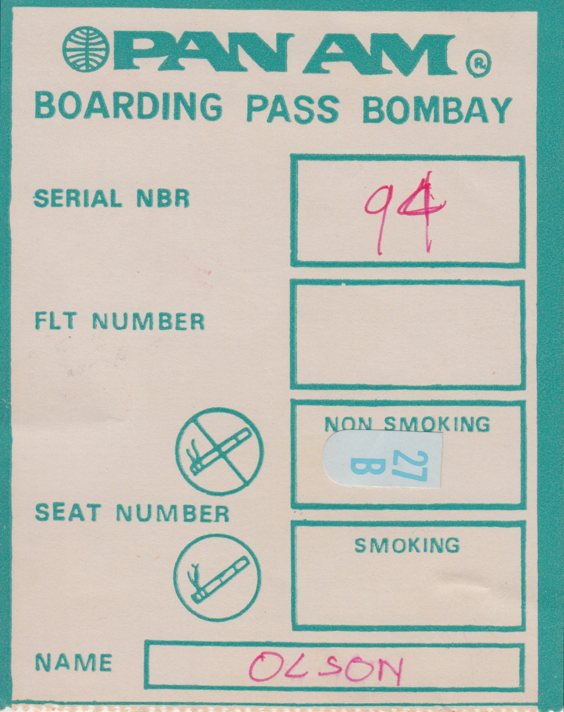 2 - boarding pass