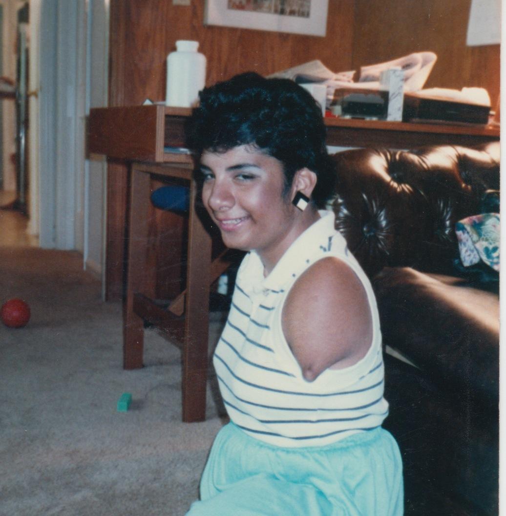 25 - lisa age 14