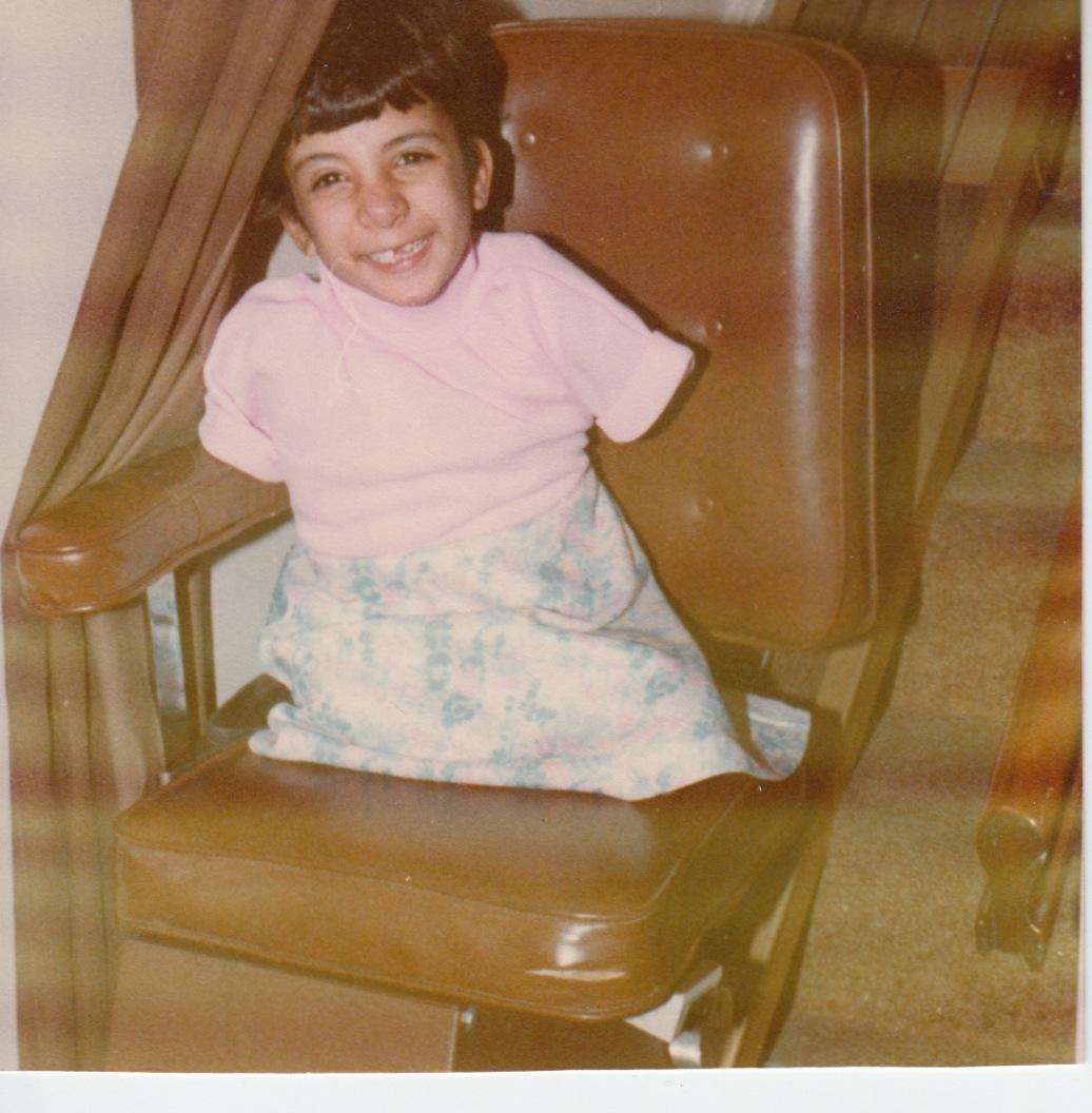 11 - lisa age 6 smiling