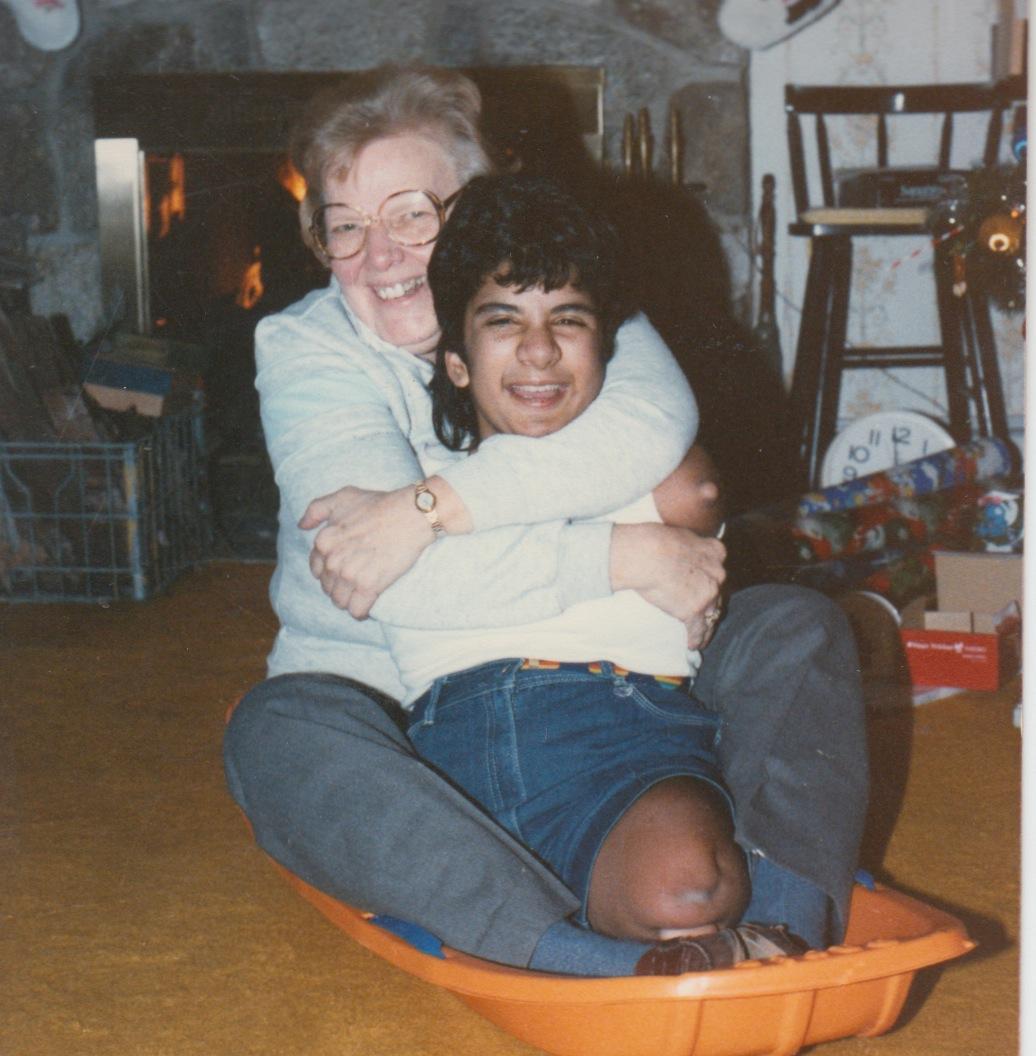 78 - lisa sled age 8
